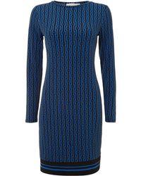 Michael Kors All Over Print Dress - Lyst
