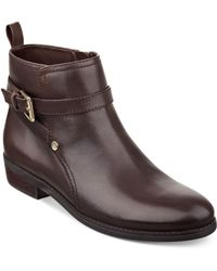 Tommy Hilfiger Connor Booties - Lyst