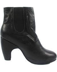 Rachel Comey Tullen Leather Platform Ankle Boots - Lyst