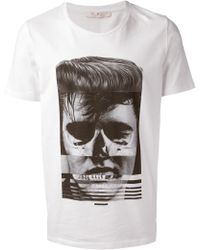 Dead Meat - Loose Collar Printed T Shirt - Lyst