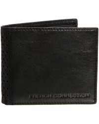 French Connection - Leather Coin Wallet - Lyst