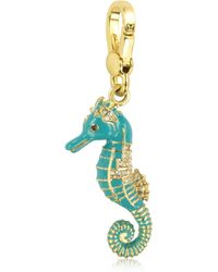 Juicy Couture - Blue Seahorse Charm - Lyst