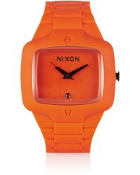 Nixon The Player Rubber Watch - Lyst