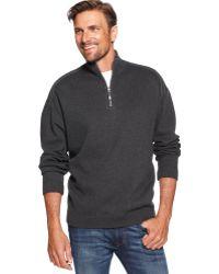Tommy Bahama Flip Side Pro Half Zip Reversible Sweater - Lyst