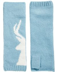 Fred Perry - Alice Hannah Stag Wristwarmers - Lyst