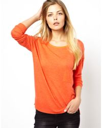 Traffic People American Vintage Fine Knit Sweater with Cashmere - Lyst