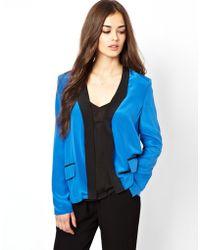 Dress Gallery - Silk Jacket - Lyst