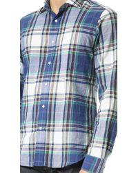 Gant Rugger Madras Plaid Shirt - Lyst