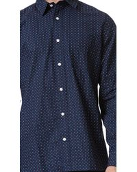 Jack Spade - Thorne Check Long Sleeve Shirt - Lyst