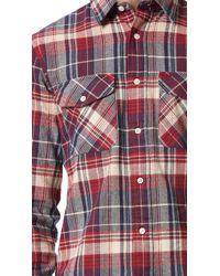 Jack Spade - Plaid Herringbone Shirt - Lyst