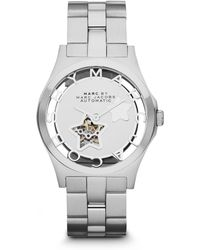 Marc By Marc Jacobs - Star Stainless Steel Automatic Watch - Lyst