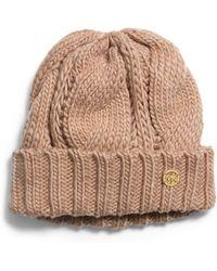 Michael Kors - Michael Knit Cuffed Hat - Lyst