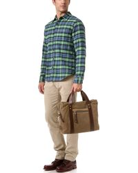 Relwen - Double Flannel Workshirt - Lyst