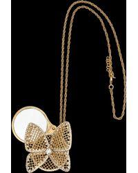 Azzaro Kiwi Necklace - Lyst