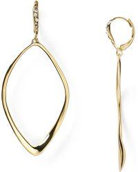 Alexis Bittar Miss Havisham Sculpted Aura Teardrop Leverback Earrings - Lyst