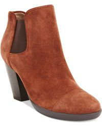 Kenneth Cole Reaction Life Line Booties - Lyst
