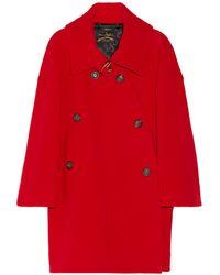 Vivienne Westwood Anglomania Trooper Woolblend Coat - Lyst