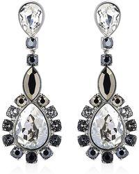 Swarovski - Valeska Drop Earrings - Lyst