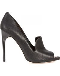 BCBGMAXAZRIA - Demie Leather Court Shoes - Lyst