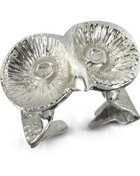 Bernard Delettrez - Silver Little Owl Ring - Lyst