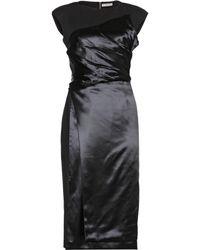 Bottega Veneta Wool And Silk-Blend Dress - Lyst