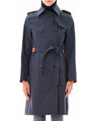Hancock - Bi-Colour Trench Coat - Lyst