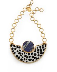 Kelly Wearstler - Memphis Haircalf Necklace - Lyst