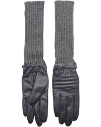 Kurt Geiger - Antonia Leather Gloves - Lyst