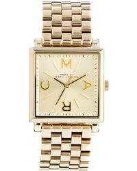 French Connection - Marc By Marc Jacobs Truman Gold Watch - Lyst
