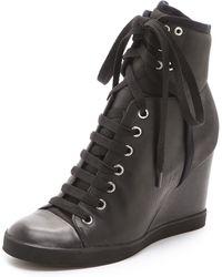 See By Chloé Wedge Sneakers - Lyst