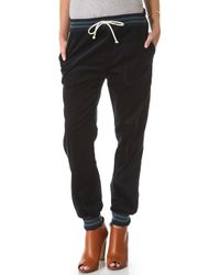 Band of Outsiders - Drawstring Corduroy Pants - Lyst