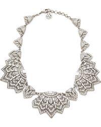 Ben-Amun - Crystal Bib Necklace - Lyst