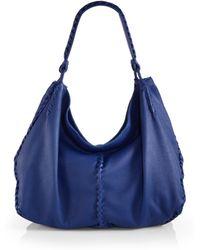 Bottega Veneta Cervo Large Shoulder Bag - Lyst