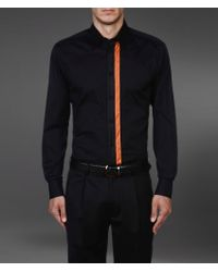 Emporio Armani Long Sleeve Shirt - Lyst