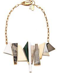 Kelly Wearstler - Facet Statement Necklace - Lyst
