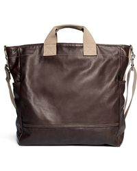 Meilleur Ami Paris Large Leather Tote - Lyst