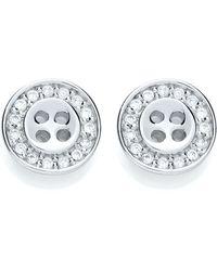 Bouton - Classic Stud Earrings - Lyst