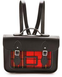 Cambridge Satchel Company - 13 Tartan Satchel Backpack - Lyst