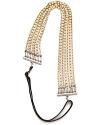 Dauphines of New York - The I Do Headband - Crystal - Lyst