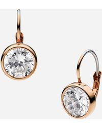 MICHAEL Michael Kors Botanicals Drop Earrings - Lyst