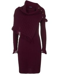 Ralph Lauren Blue Label - Knitted Dress - Lyst