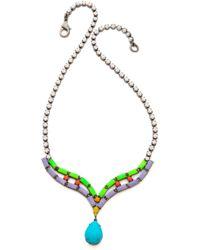 Tom Binns - Shadow Play Crystal Necklace - Lyst