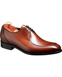 Barker | Preston Goodyear Welt Leather Derby Shoes | Lyst