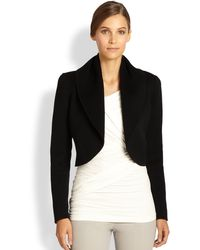 Donna Karan New York Shawl Collar Cashmere Jacket - Lyst