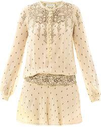 Etoile Isabel Marant Risha Gypsy Print Dress - Lyst