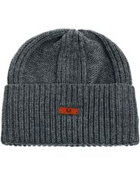Fred Perry - Chunky Ribbed Beanie - Lyst