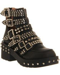 Jeffrey Campbell Colburn Buckle Ankle Boot - Lyst