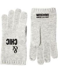 Boutique Moschino - Moschino Cheap and Chic Sheep and Chic Gloves - Lyst