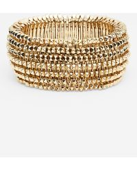 Tasha Spike Stretch Bracelet - Lyst