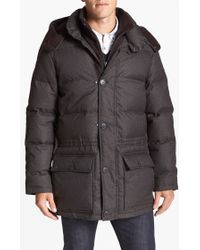 Vince Camuto 680-Down Fill Quilted Hooded Anorak - Lyst